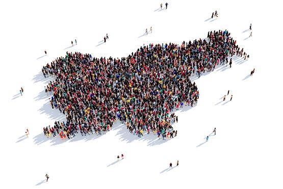 Slovenske statistične regije in občine v številkah osvežene z novimi podatki