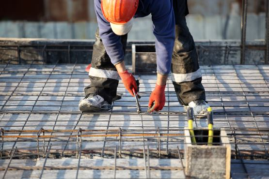 In the last year, the number of persons in employment in construction up by 9%
