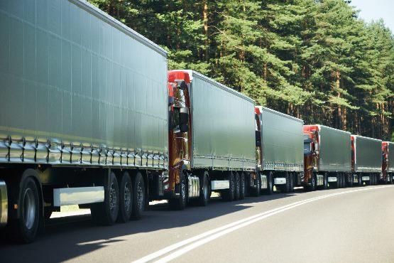 V letu 2018 slovenska tovorna vozila prepeljala 1 % manj blaga kot v letu 2017