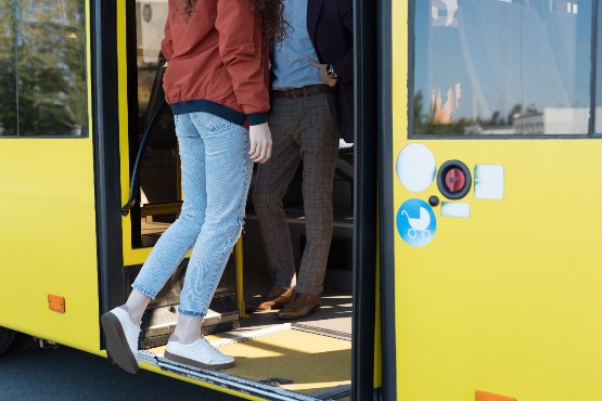 In 2017 more passengers carried by buses than in 2016