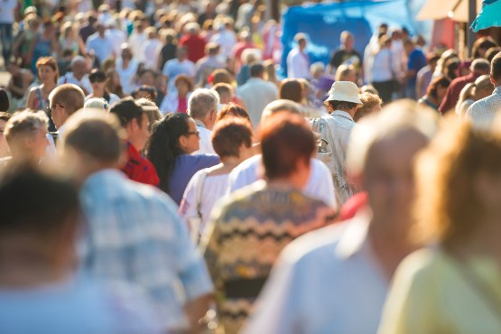 1. januarja 2019 v Sloveniji 2.080.908 prebivalcev ali 14.000 več kot leto dni prej