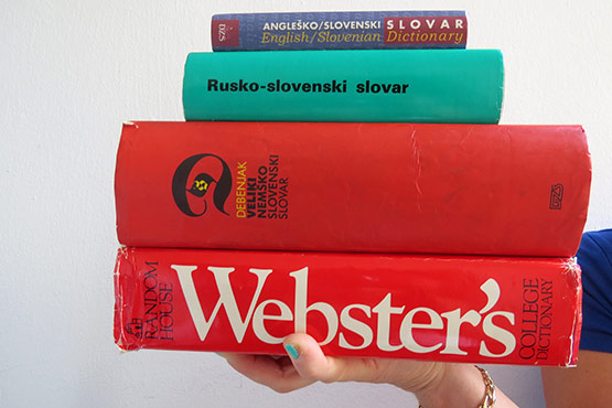 By knowing English, the most frequently spoken foreign language in Slovenia, we are part of Europe and the world