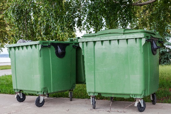 Almost 59% of municipal waste was recycled in Slovenia in 2018