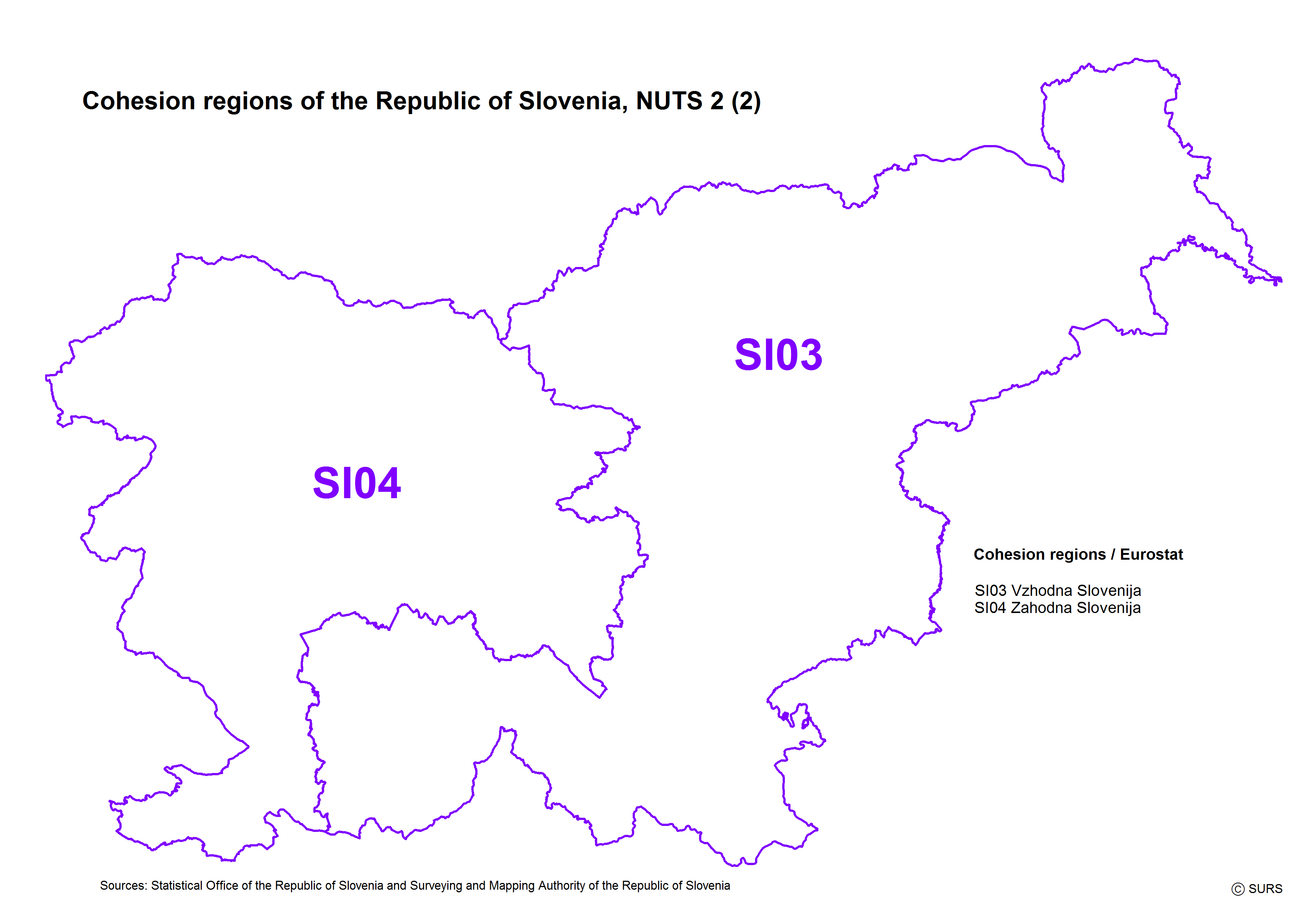 CLASSIFICATIONS AND CODE LISTS - Republic of slovenia map